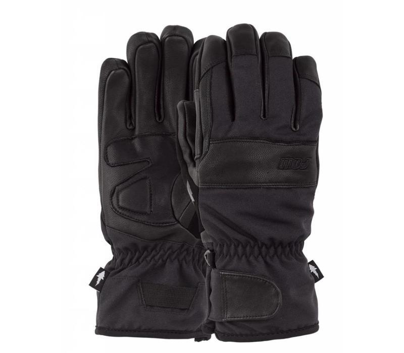 Pow August Short Glove Black