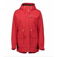Wear Colour State Parka Red