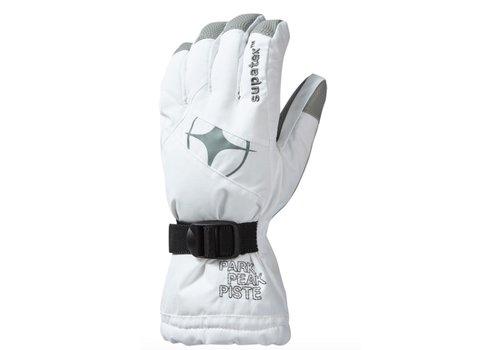 MANBI Epic Ski Glove White/Silver