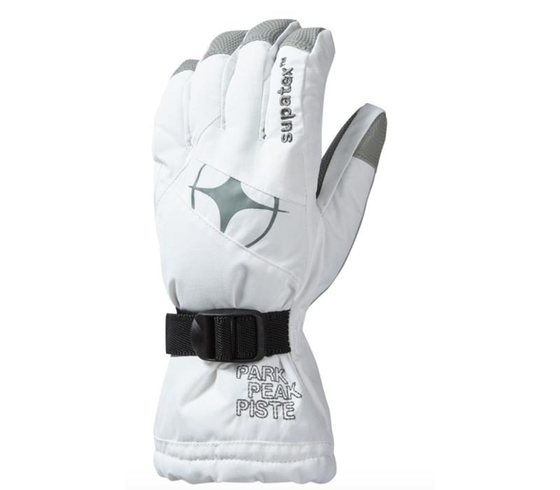 Epic Ski Glove White/Silver