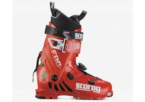 SCARPA Scarpa F80 Ski Boot Green/Wht/Red