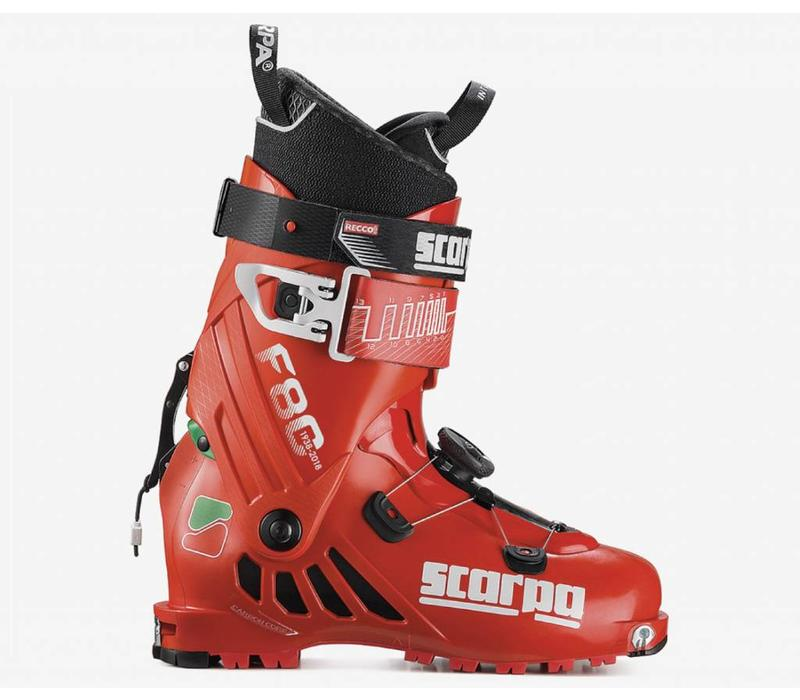 F80 Ski boot Green/Wht/Red