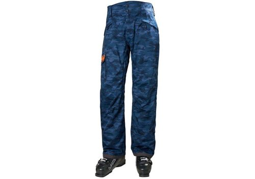 HELLY HANSEN Sogn Cargo Pant Graphite Blue Camo