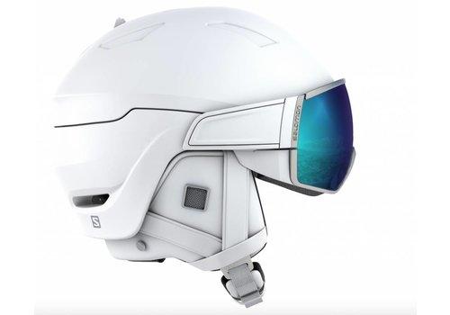 SALOMON Mirage Helmet + White/Solar Visor