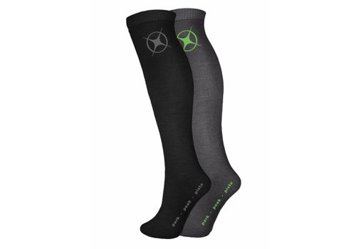 MANBI Performance Sock twin pack Blk/Rock