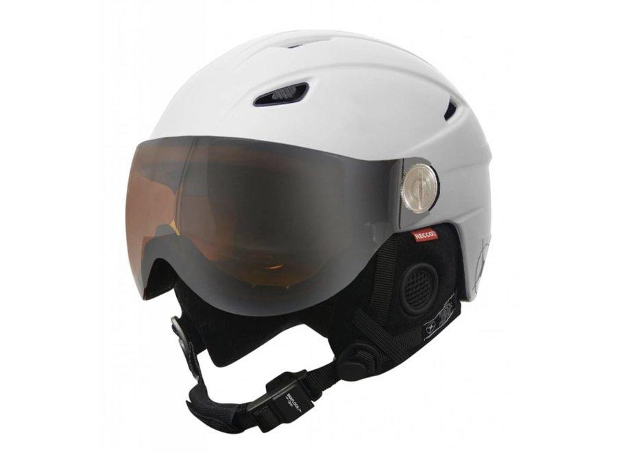 Manbi Park Visor Kids Helmet White