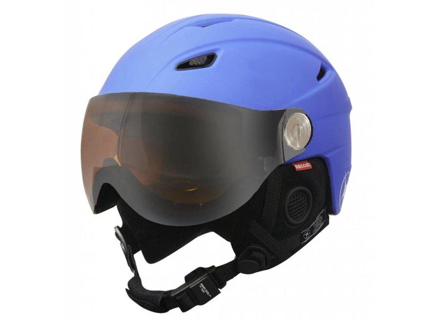Manbi Park Visor Kids Helmet Blue