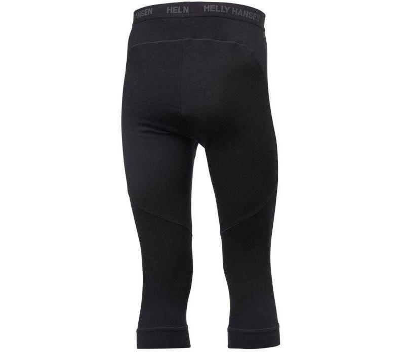HH Lifa Merino 3/4 Pant Black