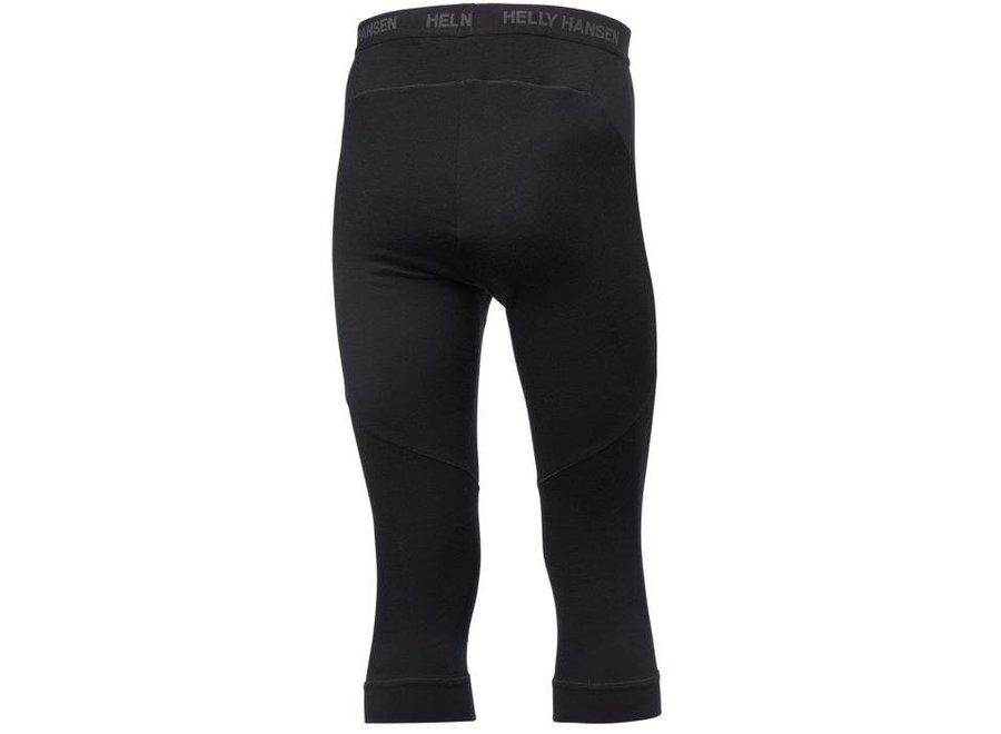 Helly Hansen Hh Lifa Merino 3/4 Pant Black