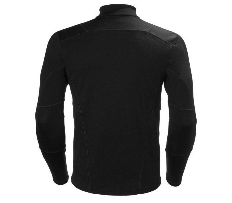 HH Lifa Merino 1/2 Zip Black