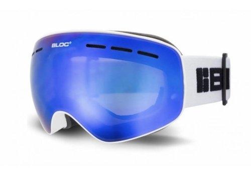 BLOC Small fit Moon Goggle white