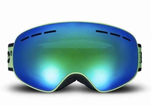 BLOC Small fit Moon Goggle green