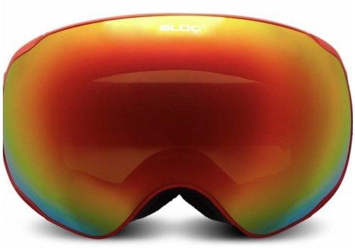 BLOC Evolution Goggle red