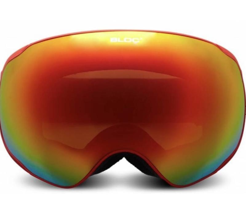 Evolution Goggle red