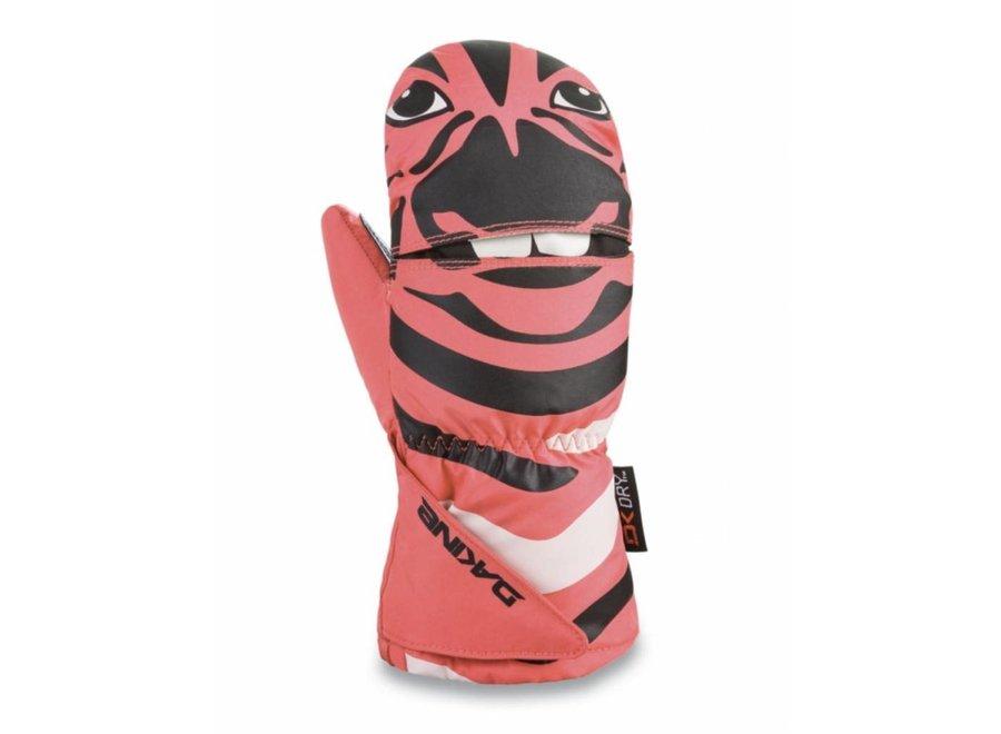 Dakine Scrambler Kids Mitt Zebra