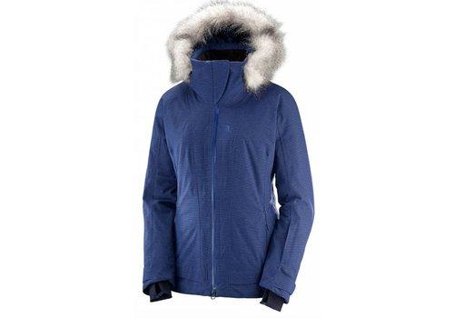 SALOMON Salomon Weekend Plus Jacket W Medieval Blue