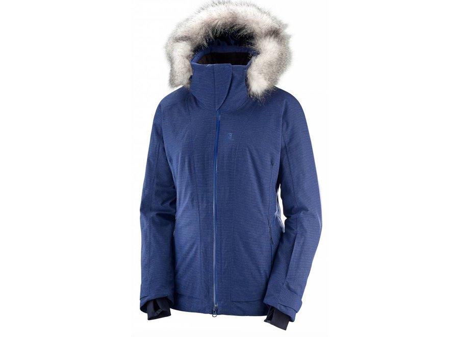 Salomon Weekend Plus Jacket W Medieval Blue