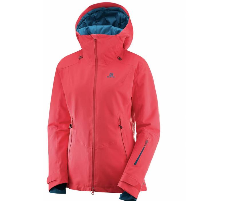 Salomon Qst Guard Jacket W Hibiscus