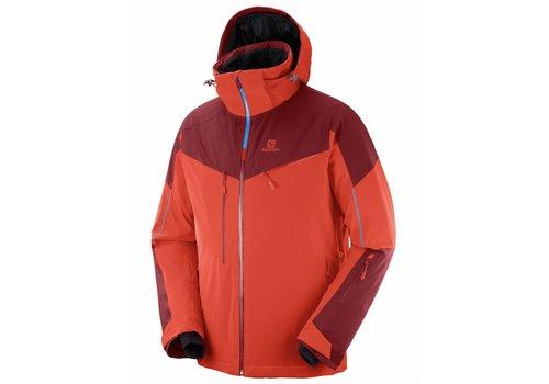 SALOMON Salomon Icespeed Jacket M Fiery Red
