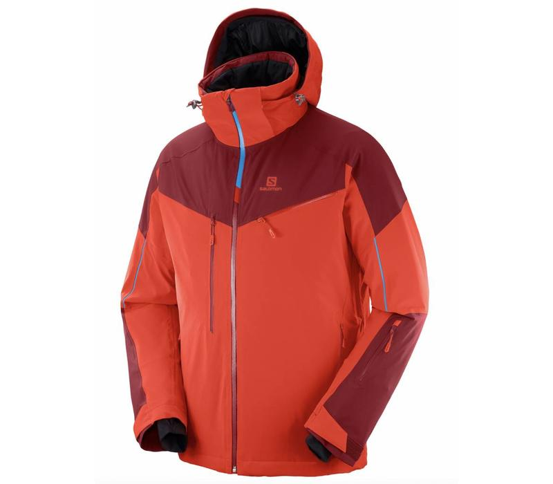 Salomon Icespeed Jacket M Fiery Red