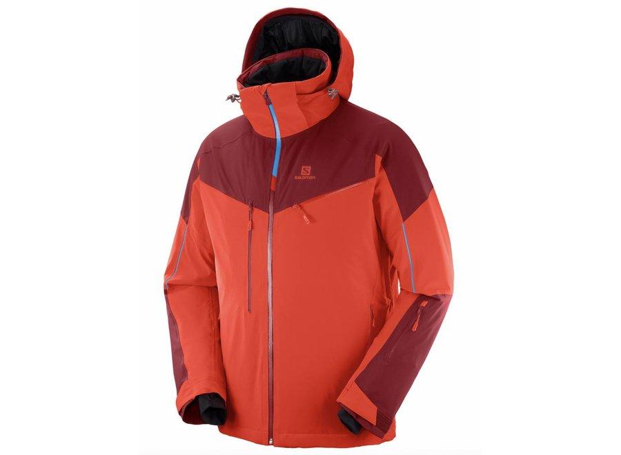 Salomon Icespeed Jacket M Fiery Red