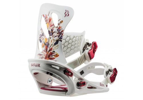 FLUX BINDINGS Flux Gs White Snowboard Binding