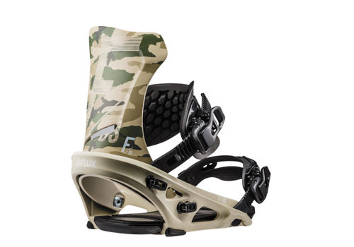 FLUX BINDINGS Flux Ds Camo Snowboard Binding
