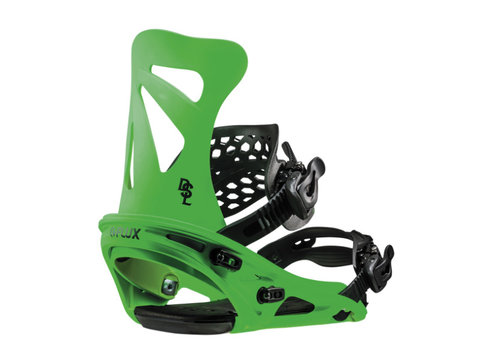 FLUX BINDINGS Flux Dsl Neon Green Snowboard Binding