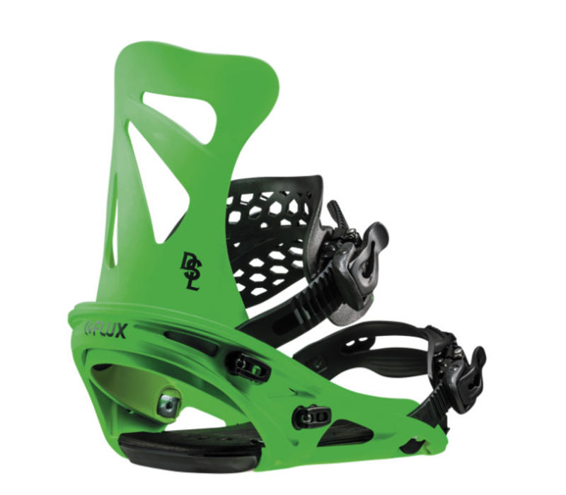 Flux Dsl Neon Green Snowboard Binding