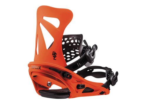 FLUX BINDINGS Flux Dsl Neon Orange Snowboard Binding