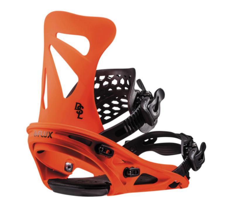 Flux Dsl Neon Orange Snowboard Binding