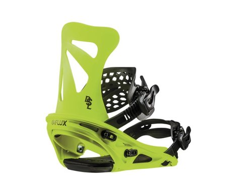 FLUX BINDINGS Flux Dsl Neon Yellow Snowboard Binding