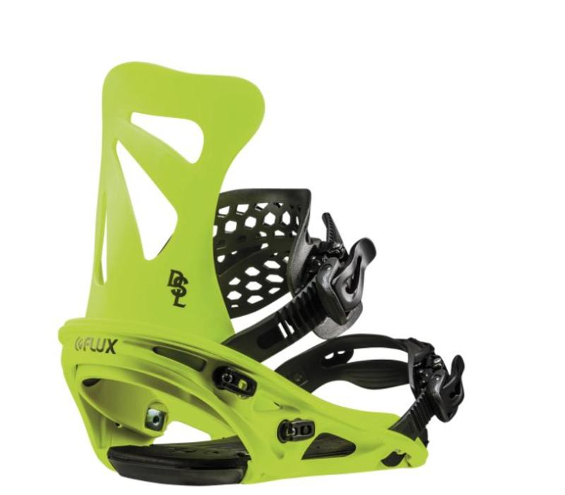 Flux Dsl Neon Yellow Snowboard Binding