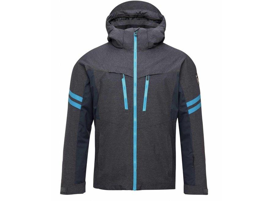 Rossignol Ski Oxford Jacket Heather Grey