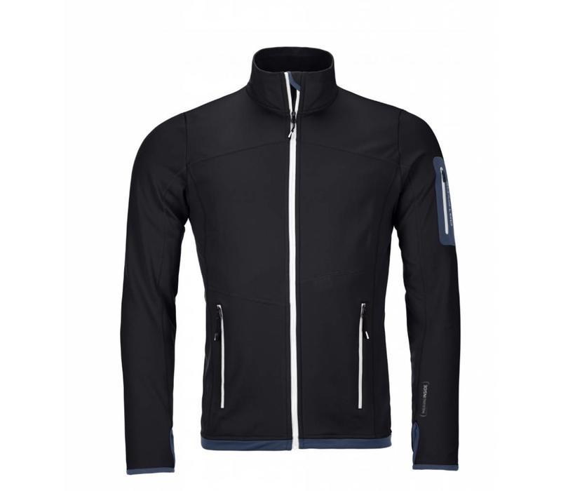 Fleece Jacket M Black Steel