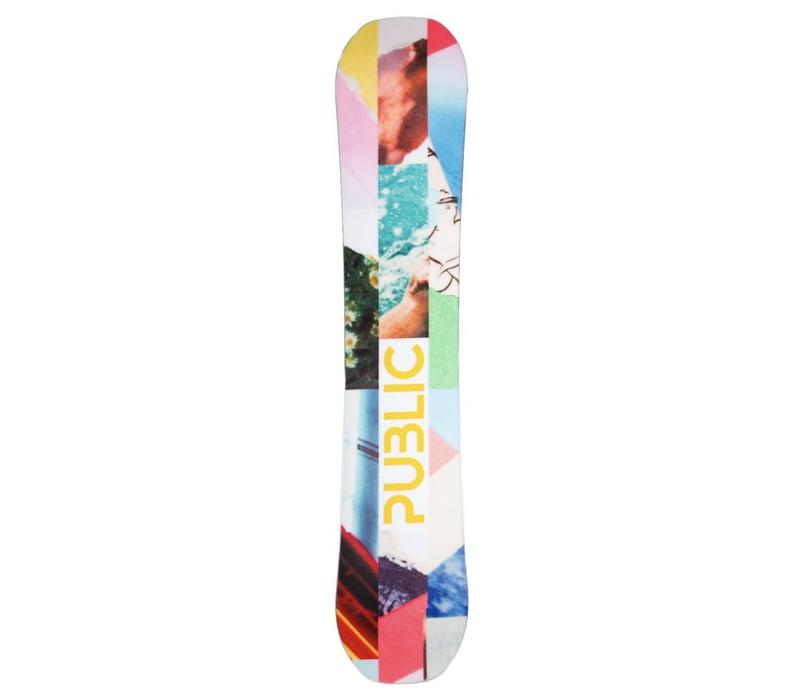 Public Mathes Display Snowboard