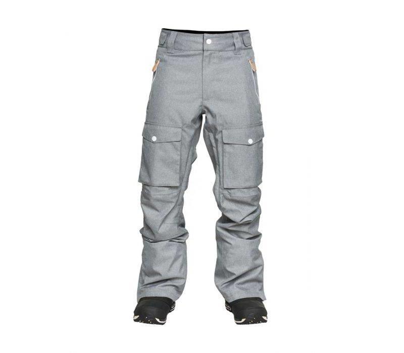 Wear Colour Flight Pant Grey Melange