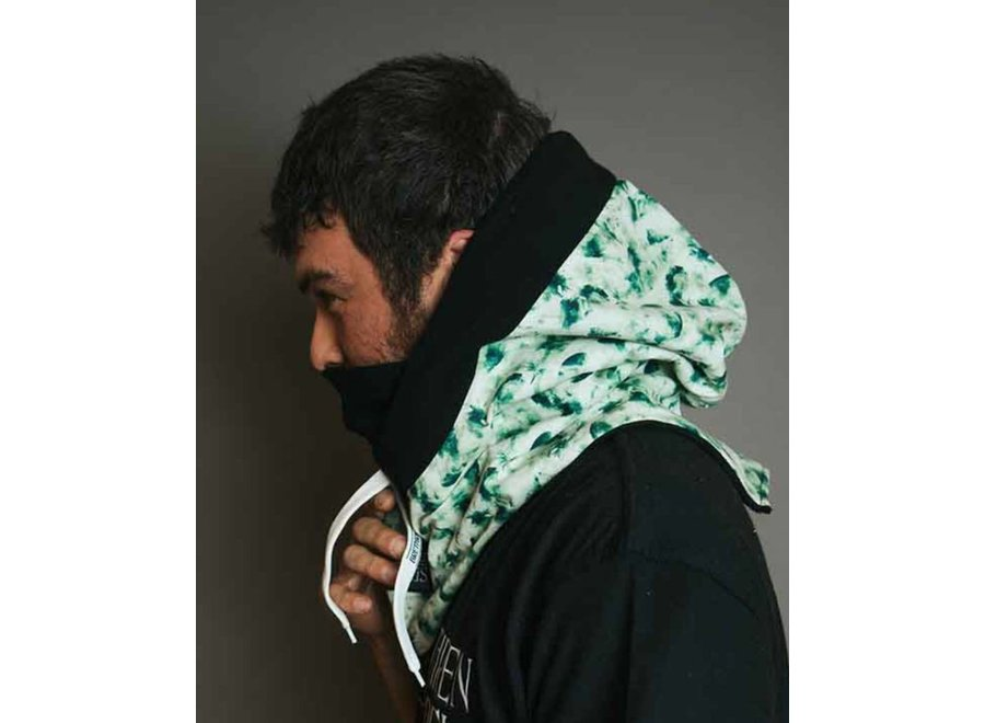 Brethren Apparel Druid Hood Feathered