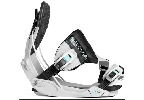 FLOW BINDINGS Flow Minx Grey/Aqua Snowboard Binding