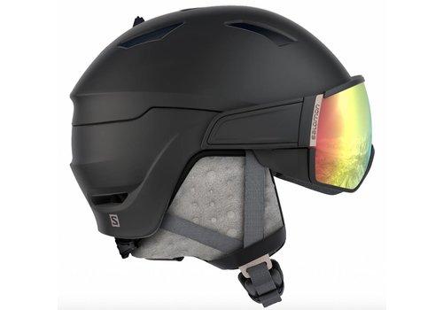 SALOMON Mirage Helmet + Photo Bk/Rose Gold Visor