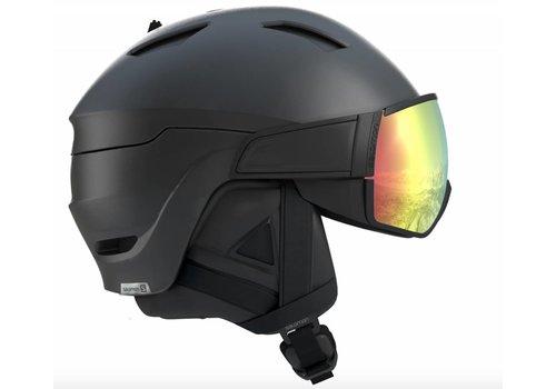 SALOMON Driver Helmet + Photo Bk/All Weather visor