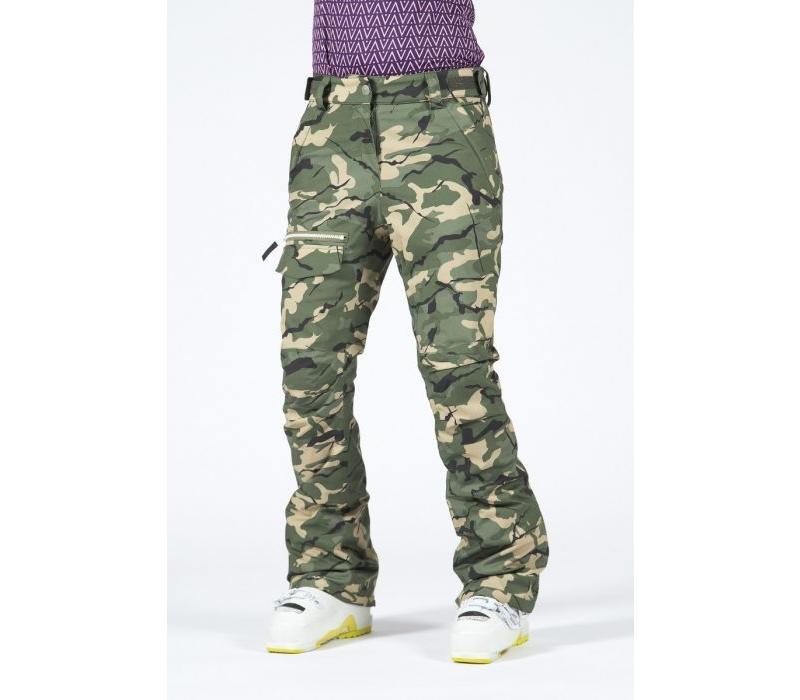Wear Colour Slant Pant Forest