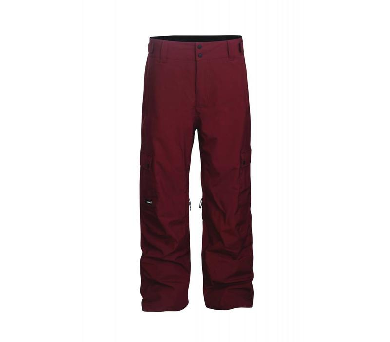 Men's Good Times Insulated Pant Maroon