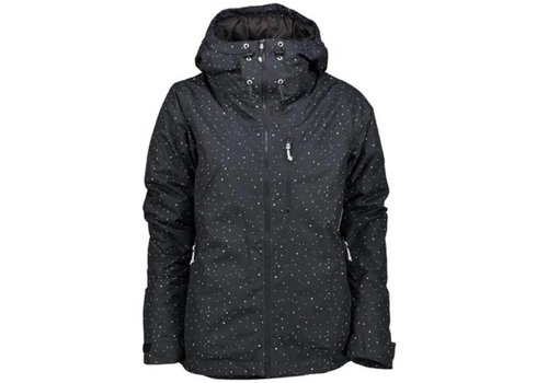 WearColour Wear Colour Block Jacket Black Galaxy