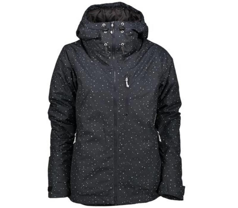 Wear Colour Block Jacket Black Galaxy