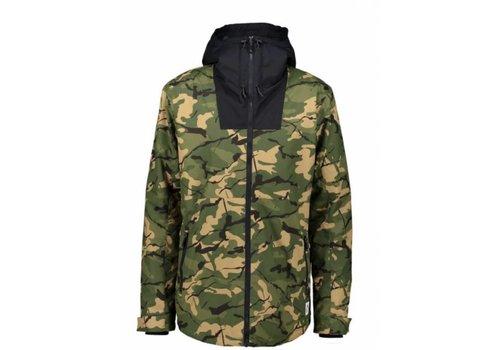 WearColour Wear Colour Block Jacket Forest