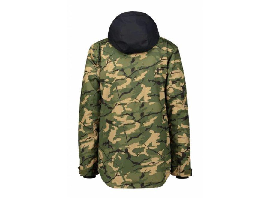Wear Colour Block Jacket Forest
