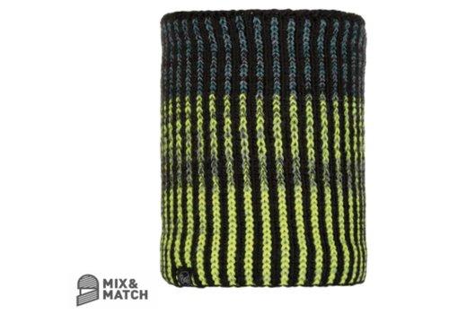 BUFF Buff Iver Black Knitted Neckwarmer