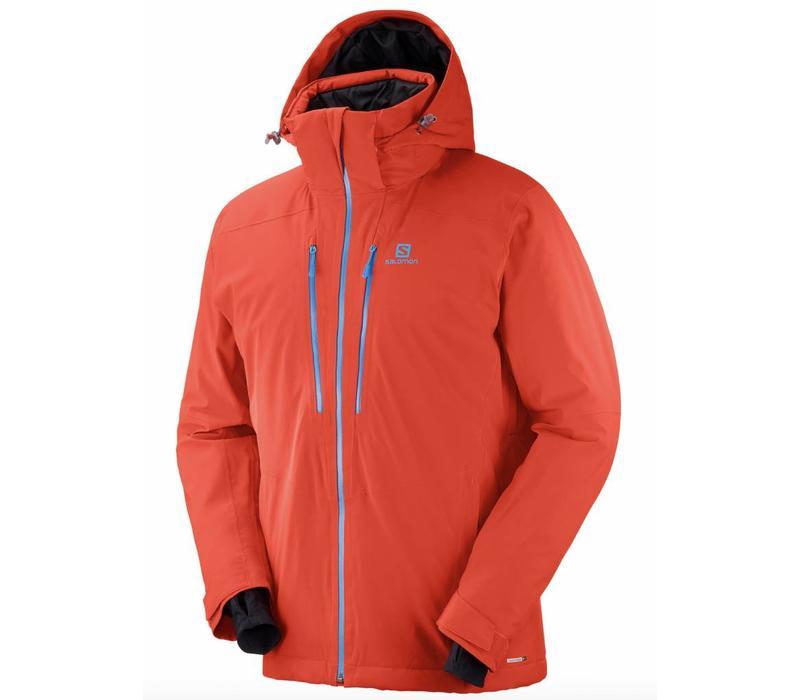 Salomon Icefrost Jacket M Fiery Red