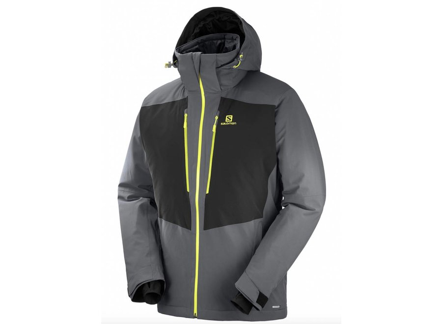 Salomon Icefrost Jacket M Forged Iron/Black